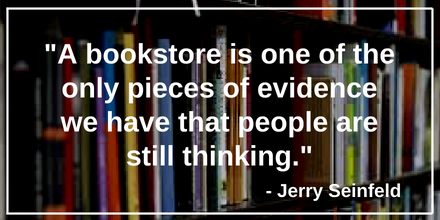 quotes about bookshops