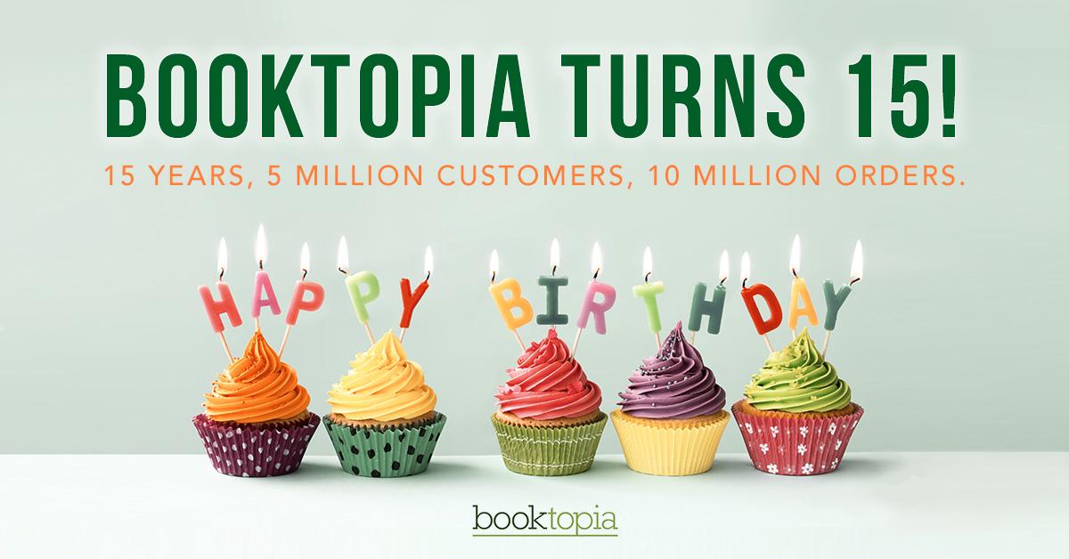 booktopia 15th birthday