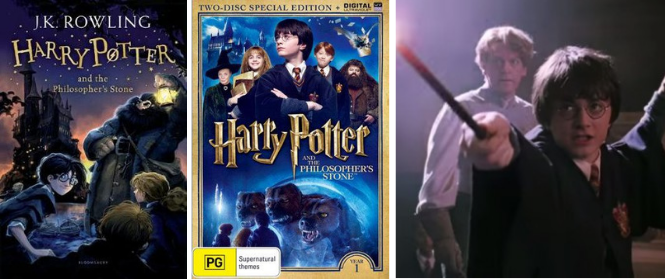Books-to-Movie: Harry Potter
