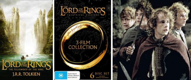 Books-to-Movie: The Lord of the Rings