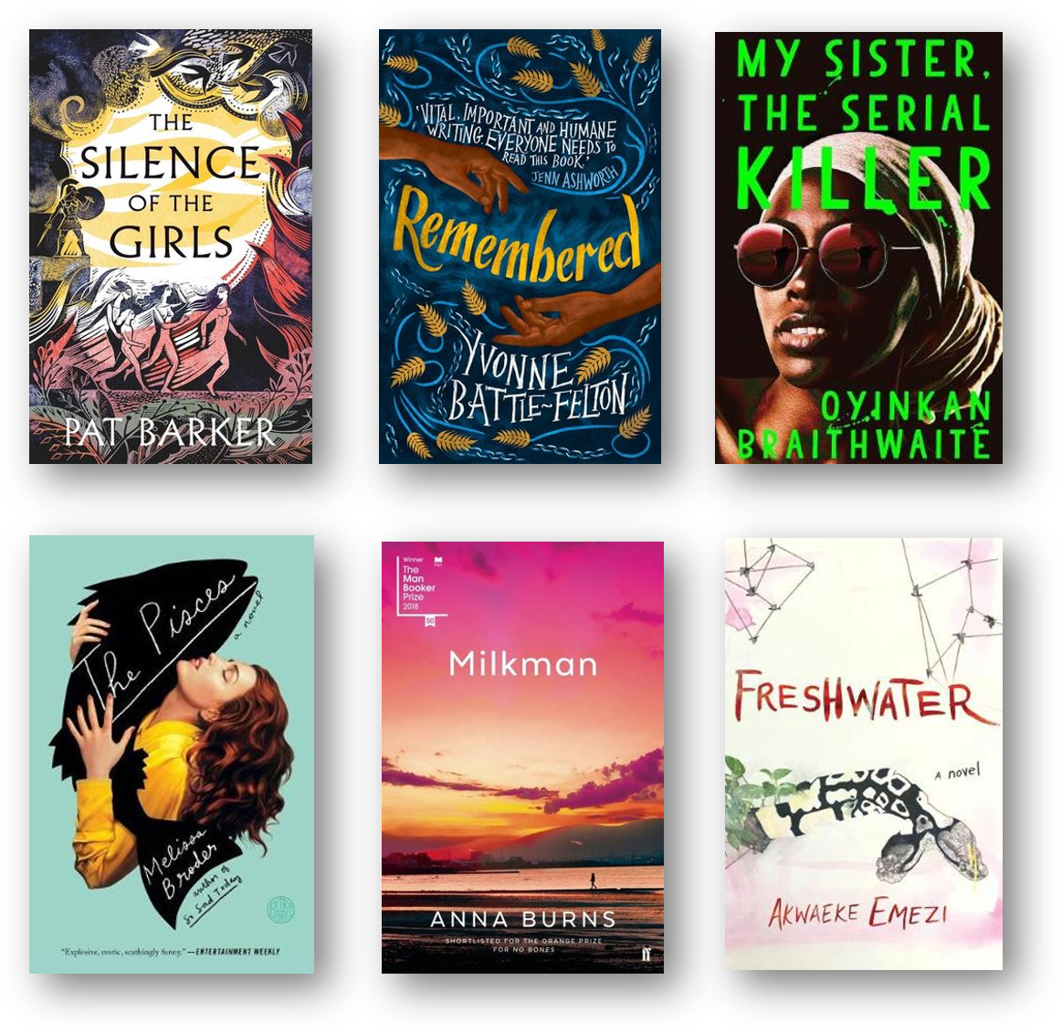 2019 women's fiction price longlist