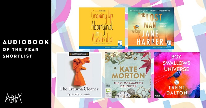Audiobook of the Year Shortlist