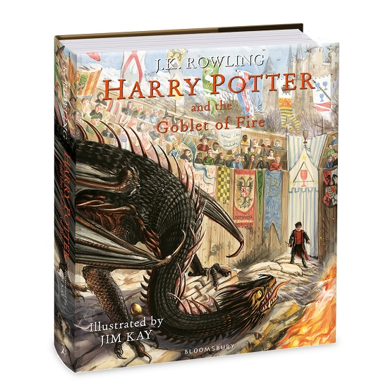 Harry Potter and the Goblet of Fireby J.K. Rowling and Jim Kay (Illustrator)