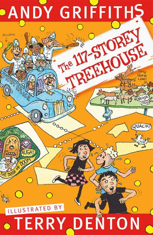The 117-Storey Treehouseby Andy Griffiths and Terry Denton (Illustrator)