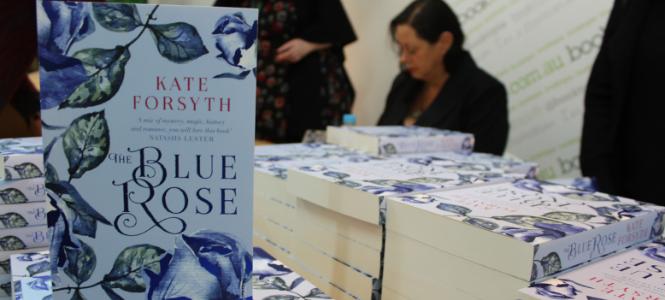 Kate Forsyth - The Blue Rose signing