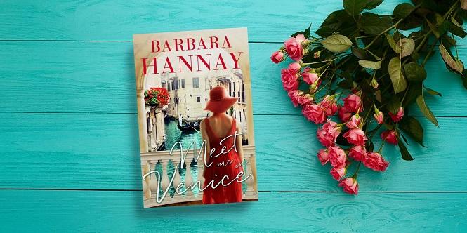 Barbara Hannay - Meet Me in Venice - In Post Banner