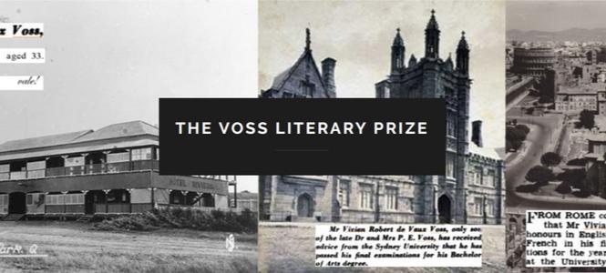 Voss Literary Prize - Header Banner