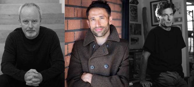 Michael Robotham, Mark Brandi and Tony Cavanaugh - In Post Banner