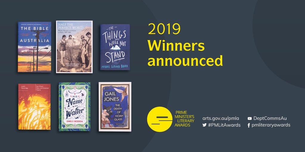 2019 Prime Minister's Literary Awards