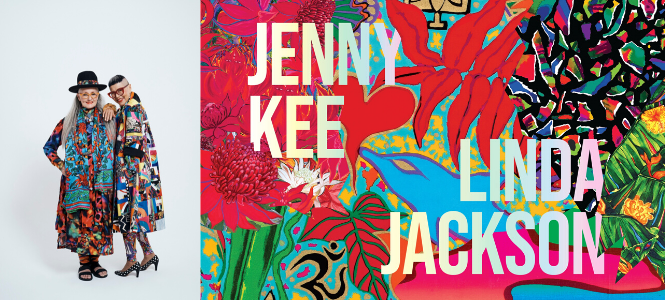 Step Into Paradise With Jenny Kee And Linda Jackson The Booktopian
