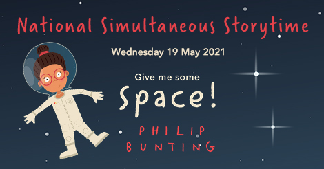 Celebrate National Simultaneous Storytime 2021 - in space! - The Booktopian