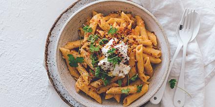 RECIPE: Saucy vodka pasta
