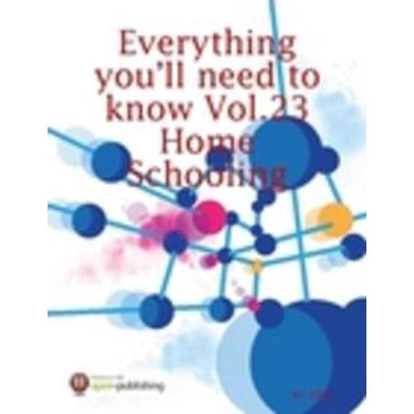 Everything You'll Need to Know Vol.23 Home Schooling - RC Ellis   Karta-nauczyciela.org