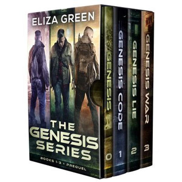 Genesis Code, Genesis Lie, Genesis War 1-3 Boxset - Eliza Green   Karta-nauczyciela.org