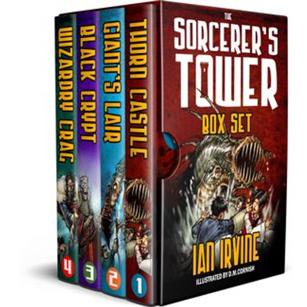 The Sorcerer's Tower Box Set - Ian Irvine | Karta-nauczyciela.org