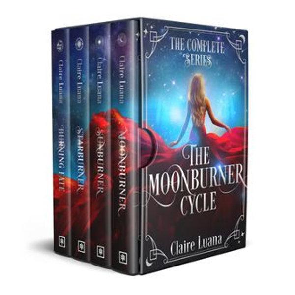 The Moonburner Cycle - Claire Luana | Karta-nauczyciela.org