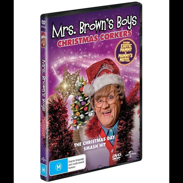 Watch Mrs Brown Boys Christmas 2021 Online Exotic Mammy Mrs Brown Boys 2019 Christmas Special Exotic Mammy Mammy S Motel 9317731155468 Booktopia