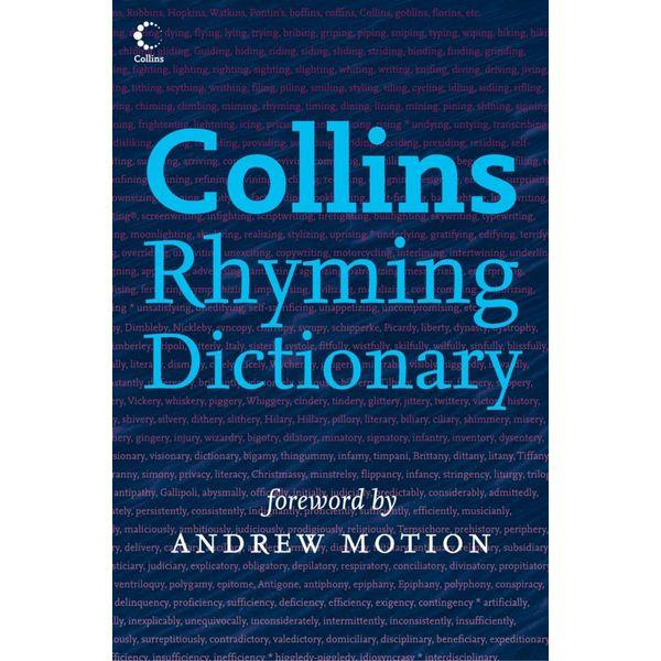 Collins Rhyming Dictionary - Rosalind Fergusson, Andrew Motion (Foreword by)   Karta-nauczyciela.org