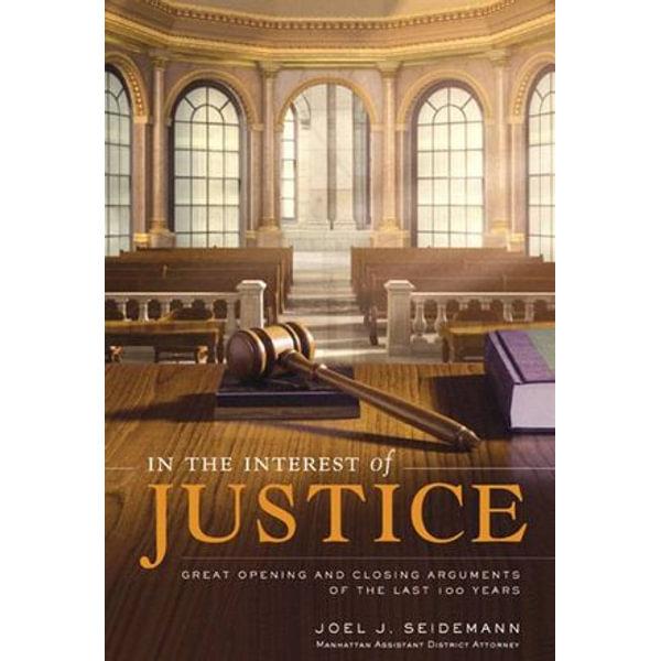 In the Interest of Justice - Joel Seidemann   Karta-nauczyciela.org