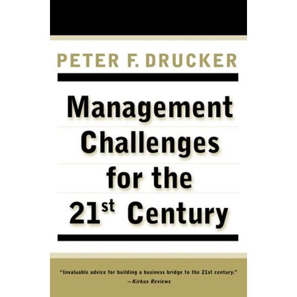 MANAGEMENT CHALLENGES for the 21st Century - Peter F. Drucker   Karta-nauczyciela.org
