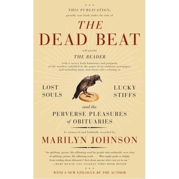 The Dead Beat - Marilyn Johnson   Karta-nauczyciela.org