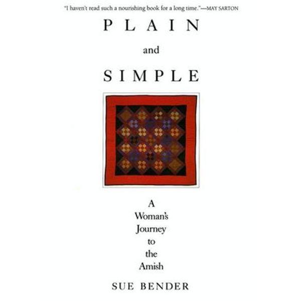Plain and Simple - Sue Bender | Karta-nauczyciela.org