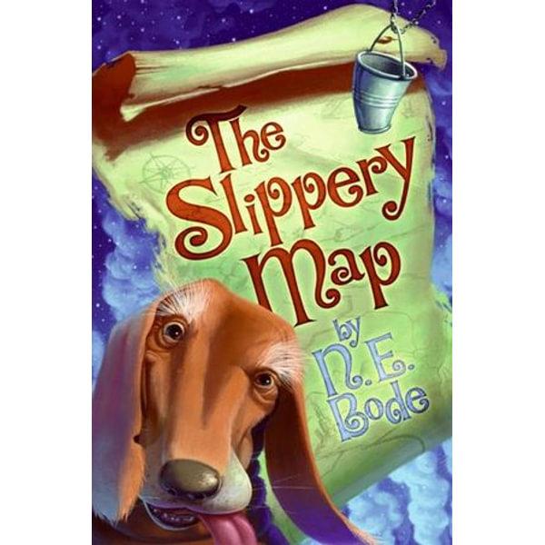The Slippery Map - N. E. Bode, Brandon Dorman (Illustrator)   Karta-nauczyciela.org