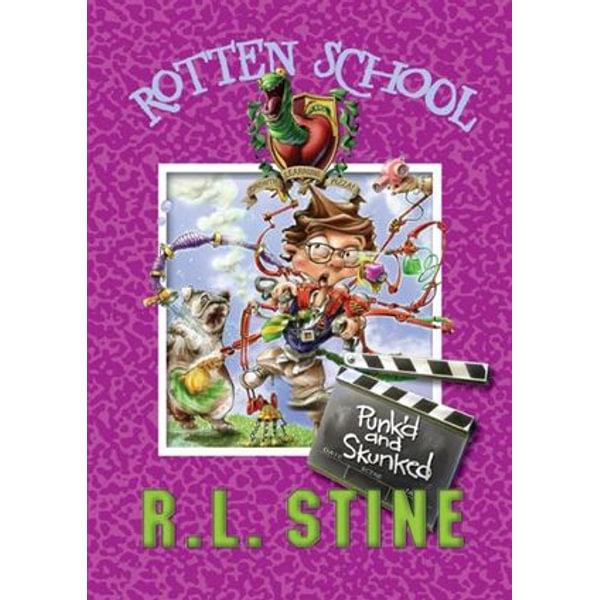 Rotten School #11 - R.L. Stine, Trip Park (Illustrator)   Karta-nauczyciela.org