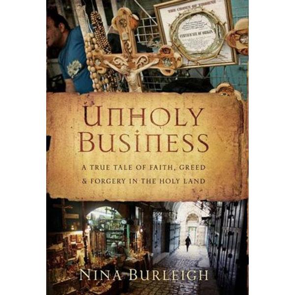 Unholy Business - Nina Burleigh | Karta-nauczyciela.org