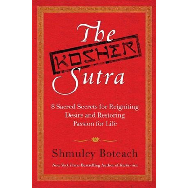 The Kosher Sutra - Rabbi Shmuley Boteach   Karta-nauczyciela.org