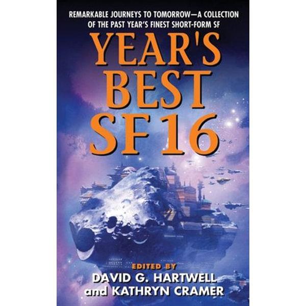 Year's Best SF 16 - Kathryn Cramer, David G. Hartwell   Karta-nauczyciela.org