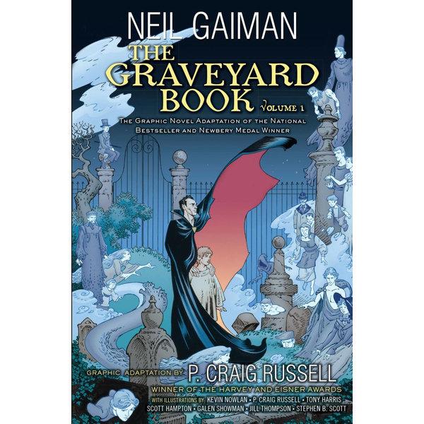 The Graveyard Book Graphic Novel - Neil Gaiman, P. Craig Russell | Karta-nauczyciela.org
