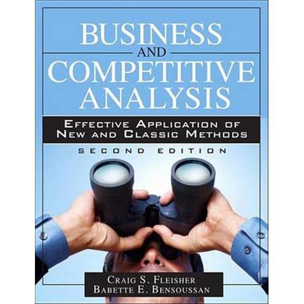 Business and Competitive Analysis - Craig S. Fleisher, Babette E. Bensoussan | Karta-nauczyciela.org
