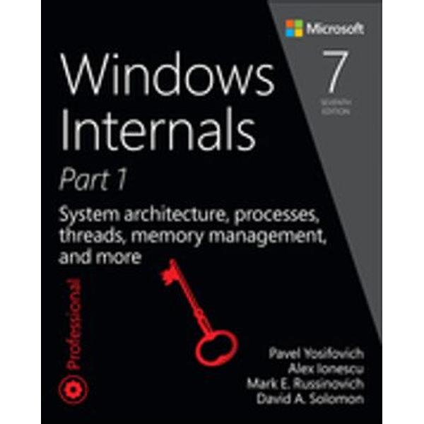 Windows Internals, Part 1 - Pavel Yosifovich, Alex Ionescu, David Solomon   Karta-nauczyciela.org