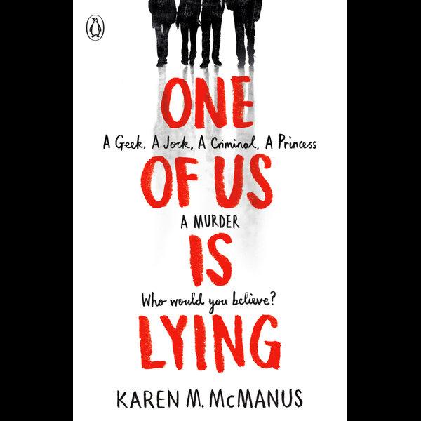 One Of Us Is Lying - Karen M. McManus   Karta-nauczyciela.org