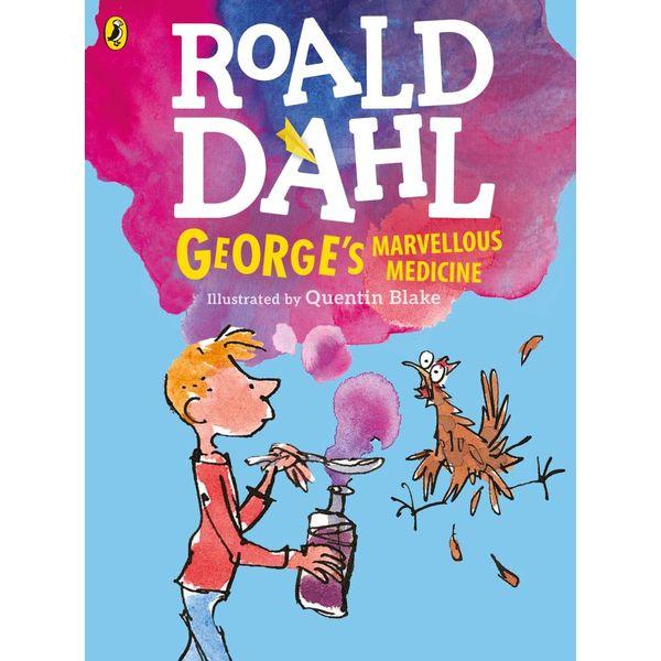 George's Marvellous Medicine (Colour Edn) - Roald Dahl, Quentin Blake (Illustrator) | Karta-nauczyciela.org