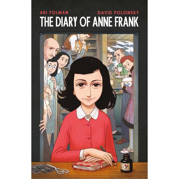 Anne Frank's Diary - Anne Frank, David Polonsky (Illustrator)   Karta-nauczyciela.org