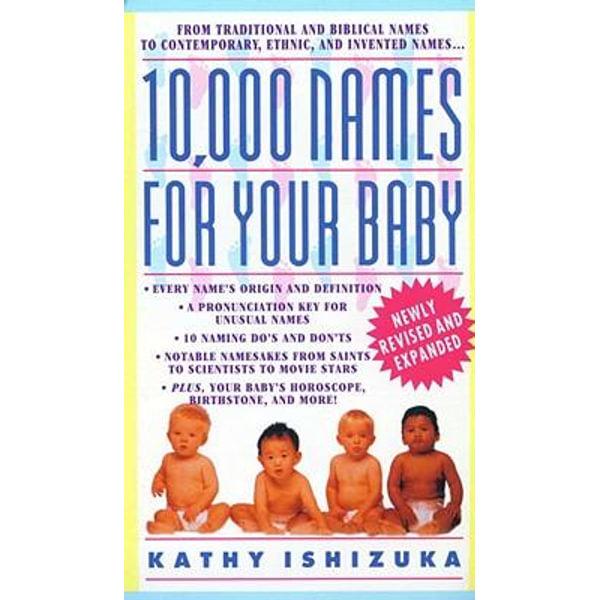 10,000 Names for Your Baby - Kathy Ishizuka | Karta-nauczyciela.org