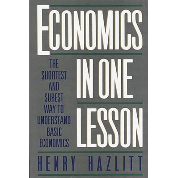 Economics in One Lesson - Henry Hazlitt   Karta-nauczyciela.org