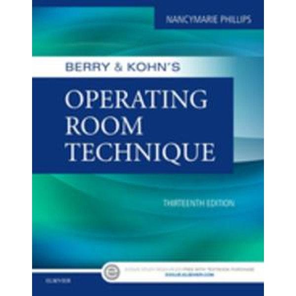 Berry & Kohn's Operating Room Technique - E-Book -    Karta-nauczyciela.org