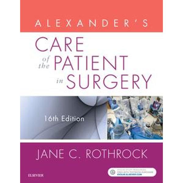 Alexander's Care of the Patient in Surgery - E-Book -  | Karta-nauczyciela.org