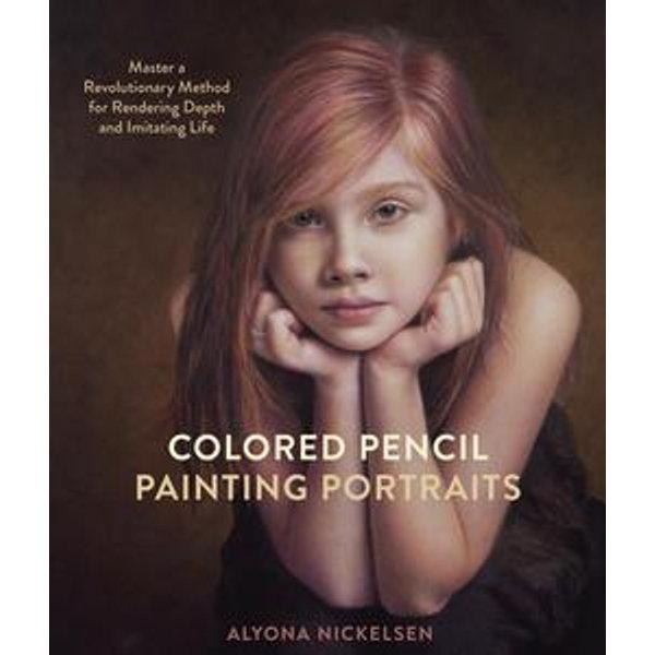 Colored Pencil Painting Portraits - Alyona Nickelsen   Karta-nauczyciela.org