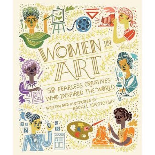 Women in Art - Rachel Ignotofsky | 2020-eala-conference.org