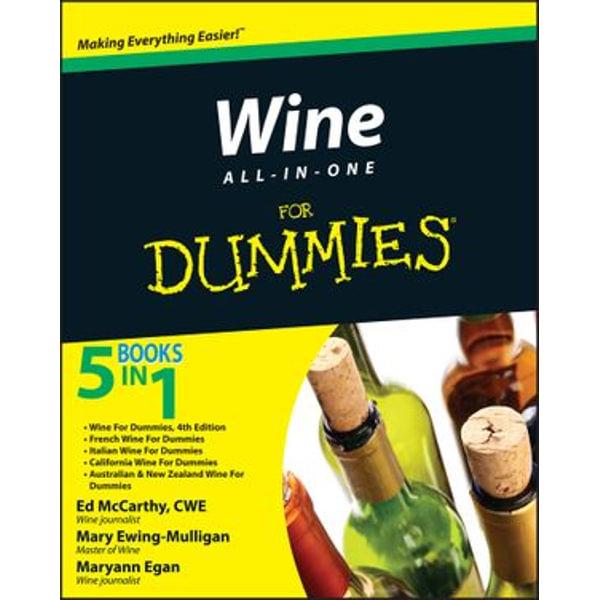 Wine All-in-One For Dummies - Ed McCarthy, Mary Ewing-Mulligan, Maryann Egan   Karta-nauczyciela.org