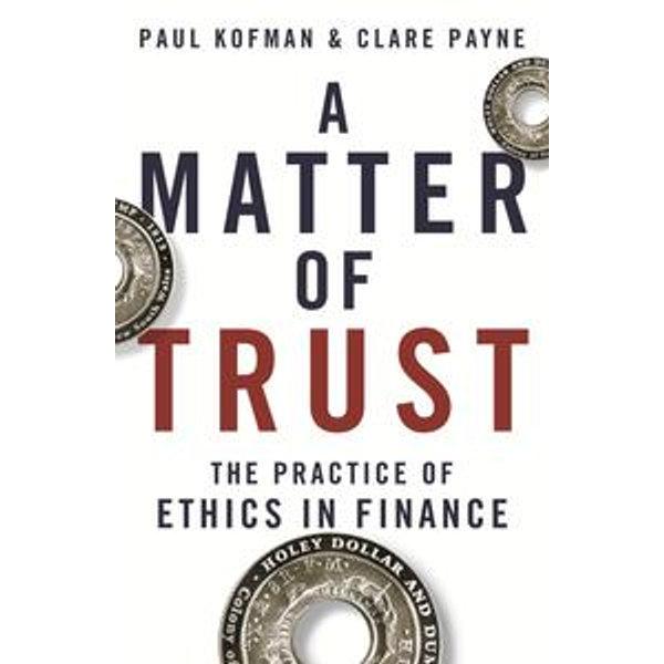 A Matter of Trust - Paul Kofman, Clare Payne | Karta-nauczyciela.org