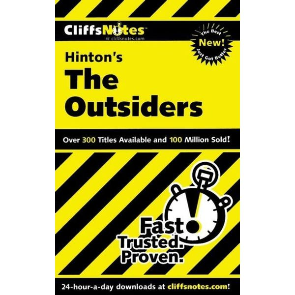 CliffsNotes on Hinton's The Outsiders - Janet Clark | 2020-eala-conference.org
