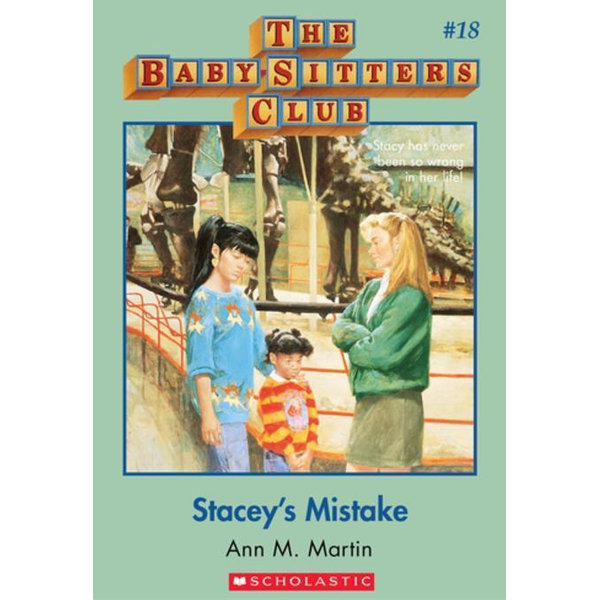 The Baby-Sitters Club #18: Stacey's Mistake - Ann M. Martin | Karta-nauczyciela.org