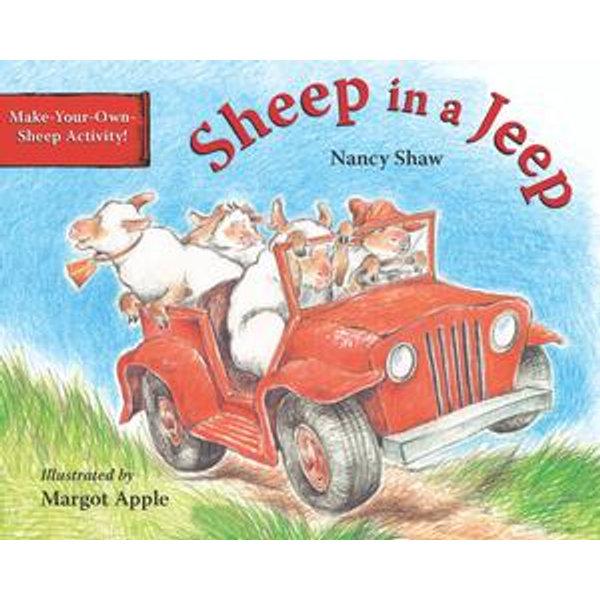 Sheep in a Jeep (Read-aloud) - Nancy E. Shaw, Margot Apple (Illustrator)   Karta-nauczyciela.org