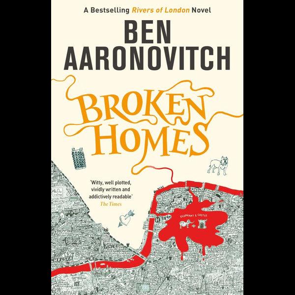 Broken Homes - Ben Aaronovitch   Karta-nauczyciela.org