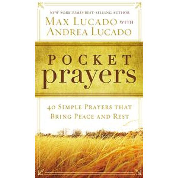 Pocket Prayers - Max Lucado | Karta-nauczyciela.org